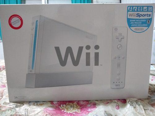 Nintendo Wii Nueva! No Usada, No Flasheada. Nueva En Caja