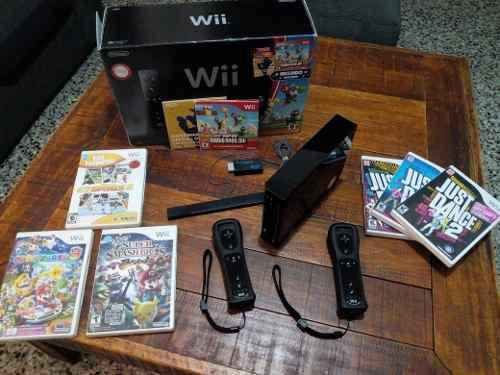 Nintendo Wii Original Super Smash Bros Mario Party 9 Hdmi