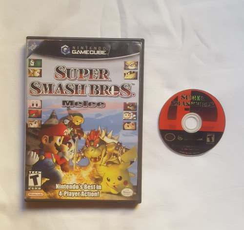 Super Smash Bros Melee Juego Nintendo Gamecube