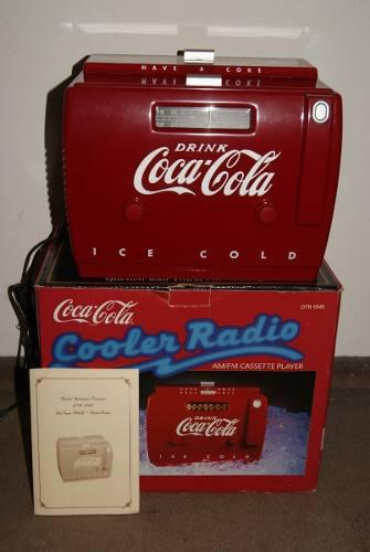 Radio Cassette Coca Cola Con Radio Am/fm. Sin Uso