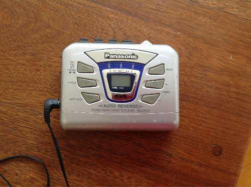 Walkman Panasonic Para Cassette Con Radio Fm Am