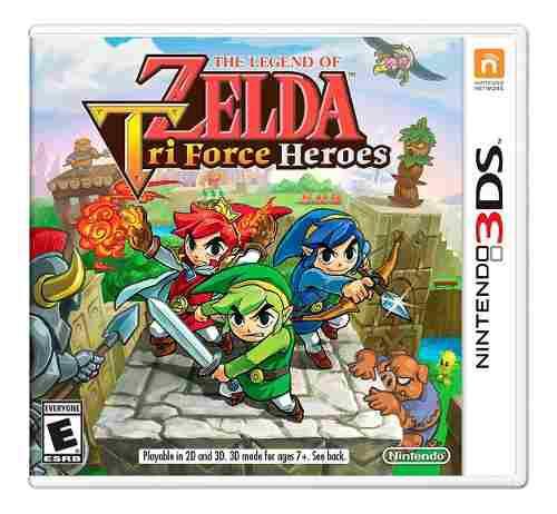 Juego Nintendo 3ds Zelda Tri Force Heroes Original Fisico
