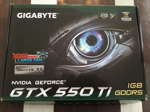 Placa De Video Gigabyte Gtx 550 Ti.