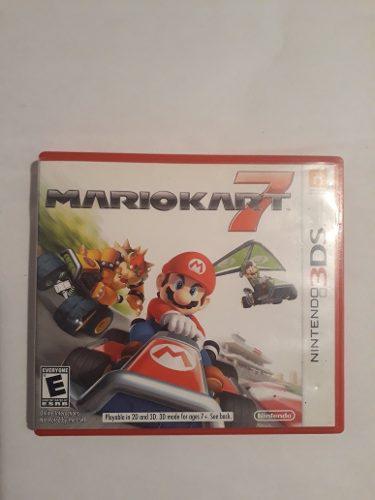 Nintendo 3ds Mario Kart 7 Sólo La Caja En Caballito