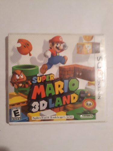 Nintendo 3ds Super Mario 3d Land Sólo La Caja En Caballito