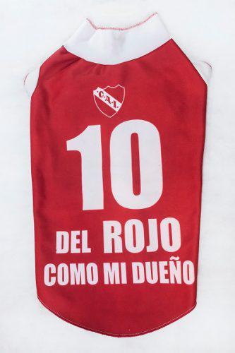 Camiseta Club Atlético Independiente Para Perro Talle 7