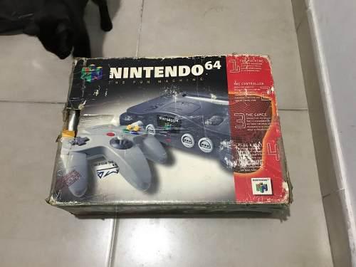 Nintendo 64 + Pokemon Stadium En Caja Vendo O Permuto