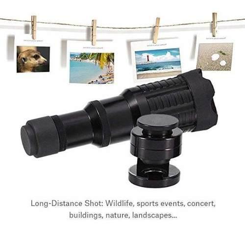 Binocular 20x Optical Zoom Telescopio Cell Phone Camara T ®