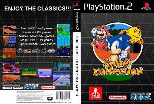 Coleccion De 7.784 Juegos Clásicos Para Play Station 2