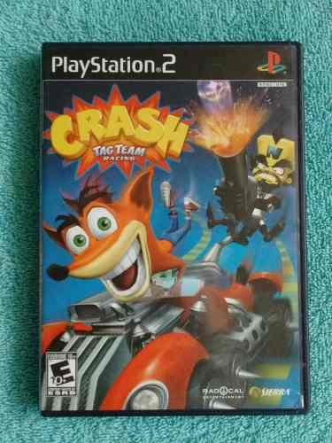 Juegos Ps2 Crash Tag Team Racing Original