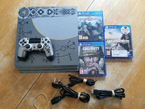 Ps4 Pro God Of War Edition 1tb Playstation 4 Sony Nueva