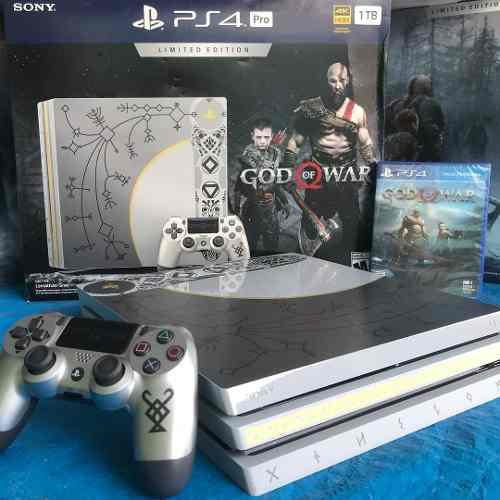 Sony Ps4 Pro God Of War 1tb Limitada Edicion