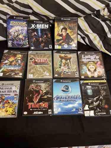 Vendo Lote De 11 Juegos De Gamecube