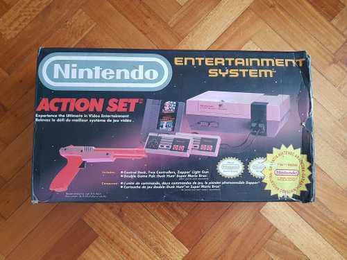 Consola Nintendo Nes Caja Clásica