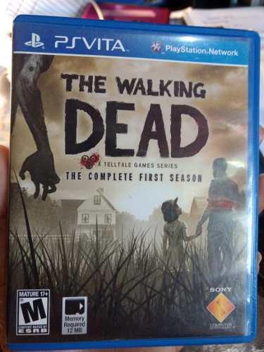 Juego Psvita The Walking Dead First Season Original Usado!