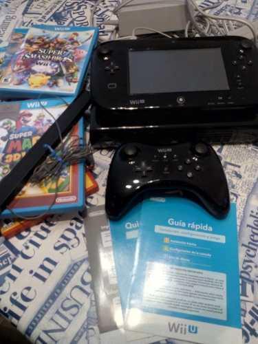 Nintendo Wii U Excelente Estado Con Juegos
