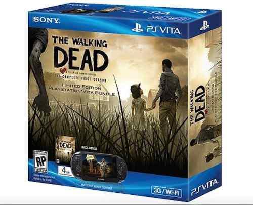 Playstation Vita - The Walking Dead Bundle - Ps Vita