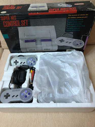 Súper Nintendo En Caja