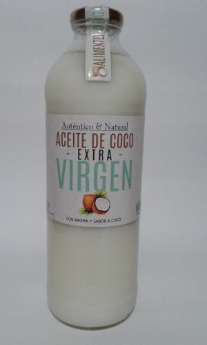 Aceite De Coco Extravirgen 910 Ml Aroma Y Sabor En Balvanera