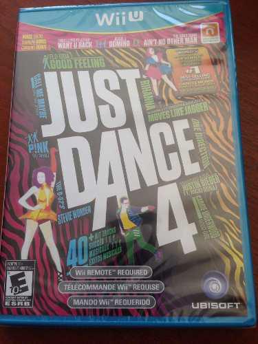 Just Dance 4 Nintendo Wii U Nuevo Juego Fisico