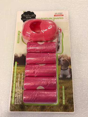 Porta Bolsa Con Bolsitas Para Desechos De Mascotas