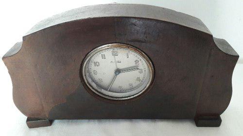 Antiguo Reloj Art Deco De Mesa Máquina Francesa