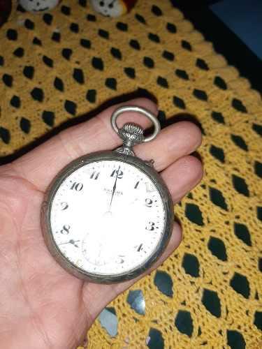 Antiguo Reloj De Bolsillo Para Repuestos