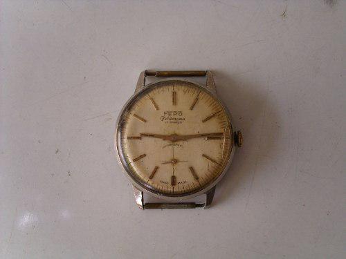 Antiguo Reloj Pulsera Fero A Cuerda.a Reparar