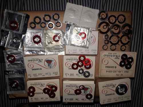 Lote De 50 Cuerdas Reloj Antiguas Suizas
