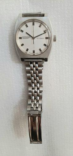 Reloj Citizen A Cuerda Antiguo Sin Uso