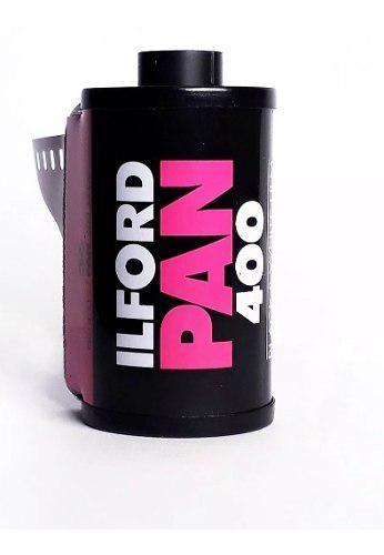 Rollo Ilford Pan 400 Blanco Y Negro 35mm