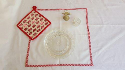 Cubrepanera Individual Carpeta De Mesa Agarradera Crochet