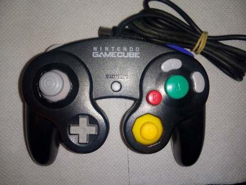 Joystick Control Nintendo Gamecube Negro Original *detalle