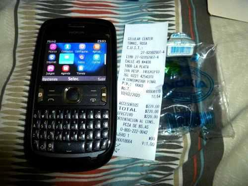 Nokia Asha 302, Con Caja, Funda Y Bateria Nueva! Leer Todo!