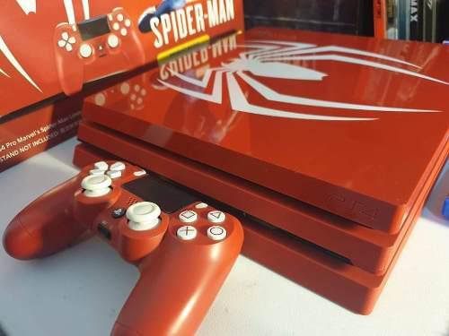 Sony Playstation Ps4 Pro 1tb Spiderman Limitada Edicion