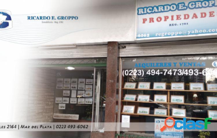 2 ambientes con dependencia externo con balcón Plaza Colón