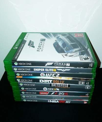 Lote 9 Juegos De Xbox One Impecables(algunos C/codigo Desc)