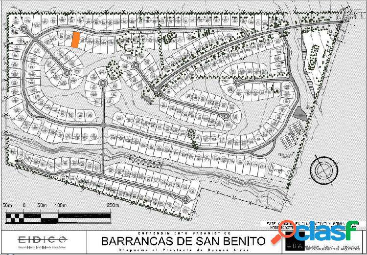 OPORTUNIDAD Lote en Barrancas de San Benito