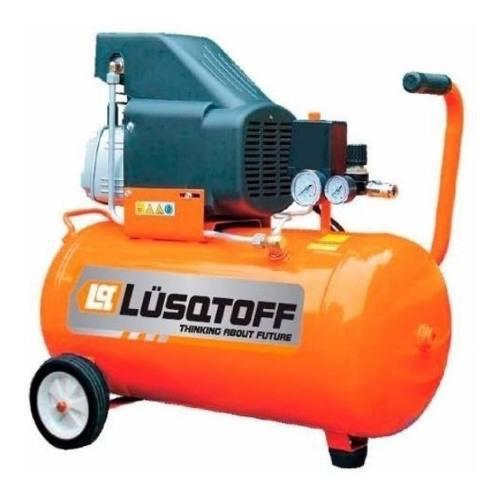 Compresor De Aire 2 Hp 25 Litros Lc2025 Lusqtoff Pda