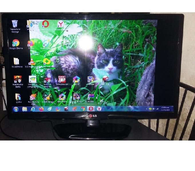 VENDO TV LED LG 24 PULGADAS FULL HD MODELO 24MT45D -PS