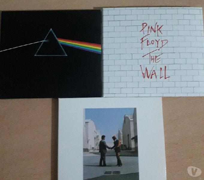 Vendo 3 cd´s originales de Pink Floyd