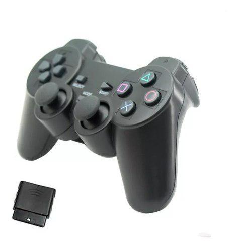 Joystick Playstation Gamepad Inalambrico Ps2 Ps3 Pc