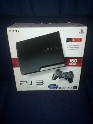 Playstation 3 Slim Chipeada + 1 Joystick + Todos Los Juegos!