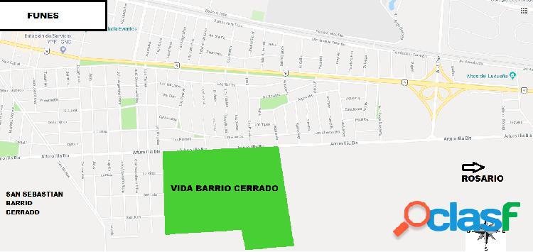 VENTA DE LOTES EN BARRIO CERRADO VIDA FUNES - CONSULTAR