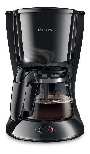 Cafetera Philips Hd7447/20 1.2l Jarra Vidrio Negra
