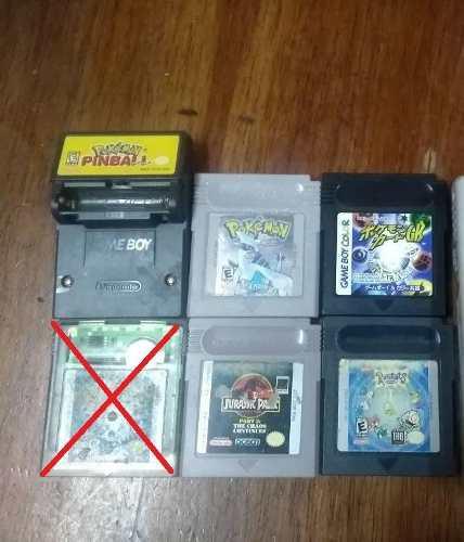 Lote Juegos Gameboy Color Incluye Pokemon Silver