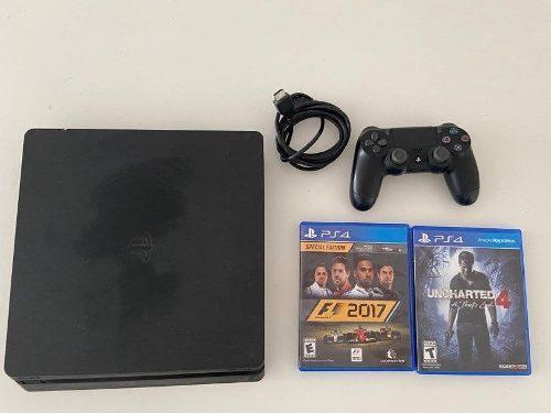 Playstation 4 Ps4 500 Gb - 1 Joystick - 2 Juegos - Impecable