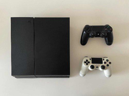 Sony Playstation 4 Ps4 500gb + 2 Joysticks + Juego