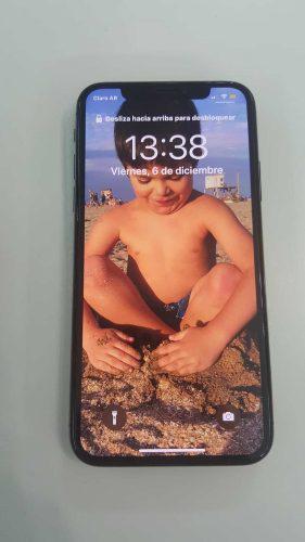 iPhone X 64gb Libre En Caja Completo Año De Uso 89% Bateria