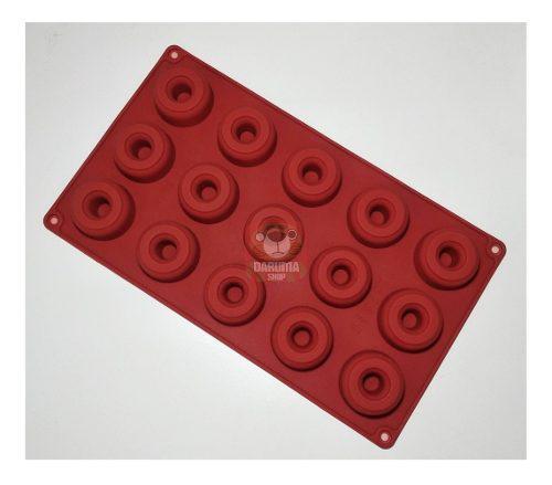 Molde Silicona 15 Mini Donut Donas Reposteria Choco Belgrano
